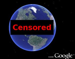 Google Censors Earth