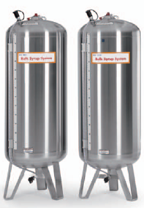 Coke syrup tanks