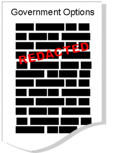 Government Options Redacted